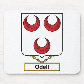 Escudo de la familia de Odell Tapete De Raton