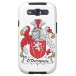 Escudo de la familia de O'Dempsey Galaxy SIII Cárcasas