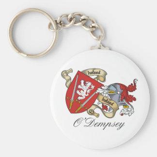 Escudo de la familia de O'Dempsey Llaveros Personalizados
