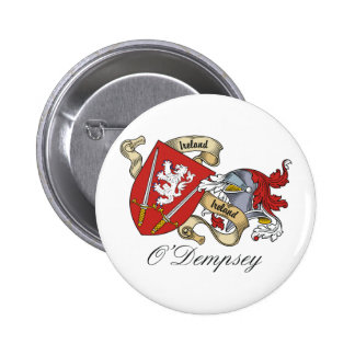 Escudo de la familia de O'Dempsey Pin