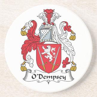 Escudo de la familia de O'Dempsey Posavasos Personalizados