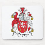 Escudo de la familia de O'Dempsey Alfombrilla De Raton
