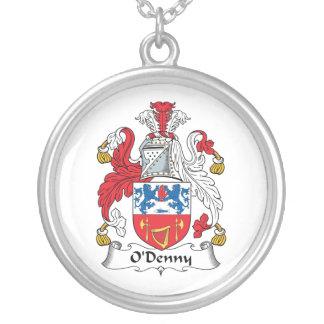 Escudo de la familia de O'Denny Colgante Redondo