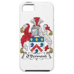 Escudo de la familia de O'Dermond iPhone 5 Funda