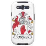 Escudo de la familia de O'Devaney Galaxy S3 Carcasa