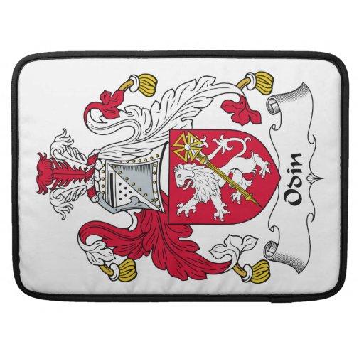 Escudo de la familia de Odin Funda Macbook Pro
