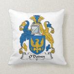 Escudo de la familia de O'Doinn Cojines