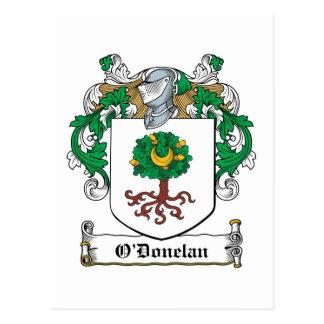 Escudo de la familia de O'Donelan Postales