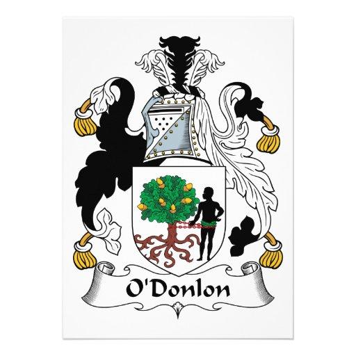 Escudo de la familia de O'Donlon Anuncios Personalizados