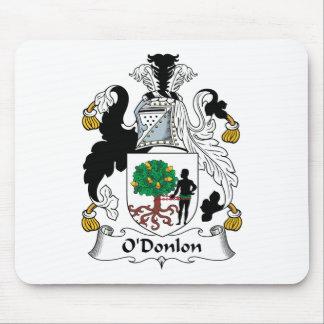 Escudo de la familia de O'Donlon Tapete De Raton