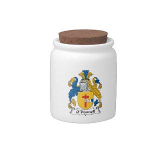 Escudo de la familia de O'Donnell Platos Para Caramelos