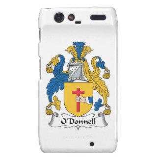 Escudo de la familia de O'Donnell Motorola Droid RAZR Carcasas