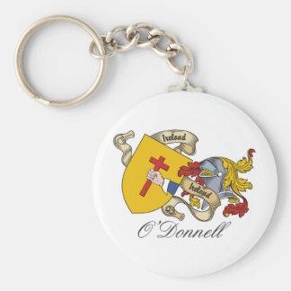 Escudo de la familia de O'Donnell Llaveros Personalizados