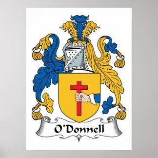 Escudo de la familia de O'Donnell Poster