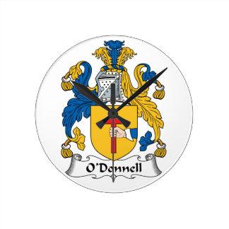 Escudo de la familia de O'Donnell Reloj