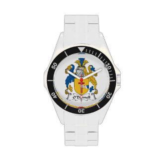 Escudo de la familia de O'Donnell Relojes De Pulsera