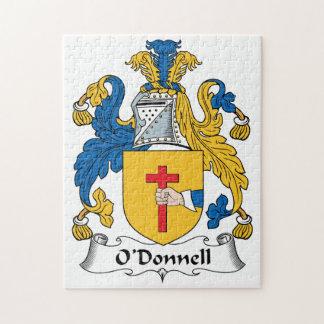 Escudo de la familia de O'Donnell Rompecabeza