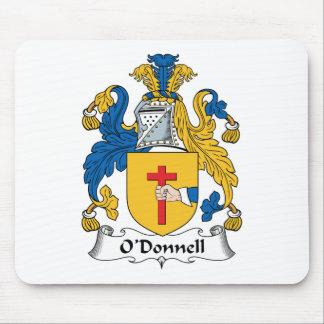 Escudo de la familia de O'Donnell Alfombrillas De Raton