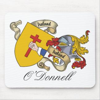 Escudo de la familia de O'Donnell Tapetes De Ratón