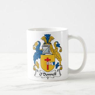 Escudo de la familia de O'Donnell Tazas