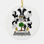 Escudo de la familia de O'Donnellan Ornamento Para Reyes Magos