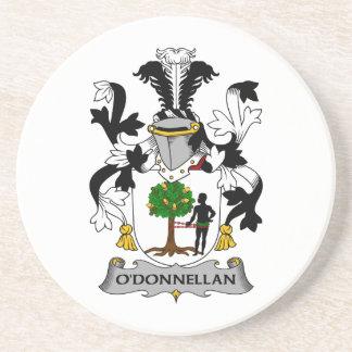 Escudo de la familia de O'Donnellan Posavasos Para Bebidas