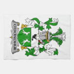 Escudo de la familia de O'Donohue Toallas De Mano
