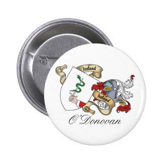 Escudo de la familia de O'Donovan Pin