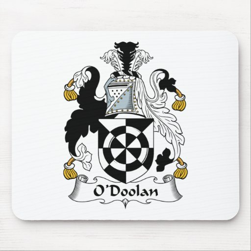 Escudo de la familia de O'Doolan Alfombrilla De Raton