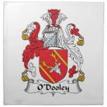 Escudo de la familia de O'Dooley Servilleta