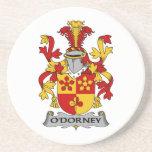 Escudo de la familia de O'Dorney Posavaso Para Bebida