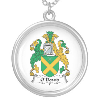 Escudo de la familia de O'Dowd Colgante Redondo