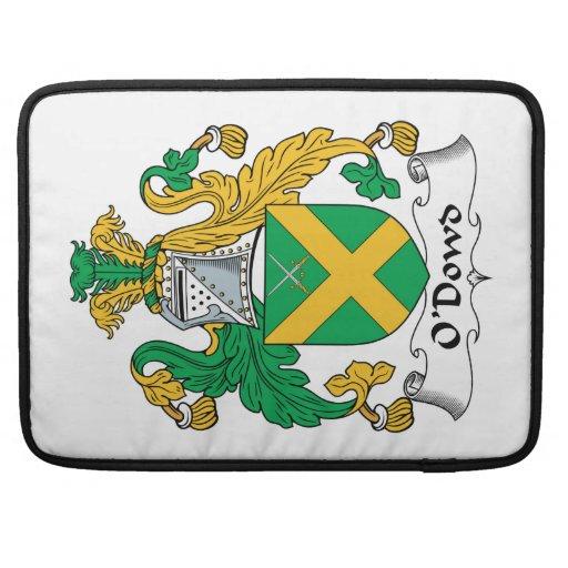 Escudo de la familia de O'Dowd Funda Para Macbook Pro
