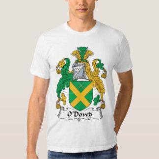 Escudo de la familia de O'Dowd Remeras