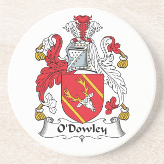 Escudo de la familia de O'Dowley Posavasos Para Bebidas