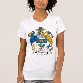 Escudo de la familia de O'Dowling Camiseta