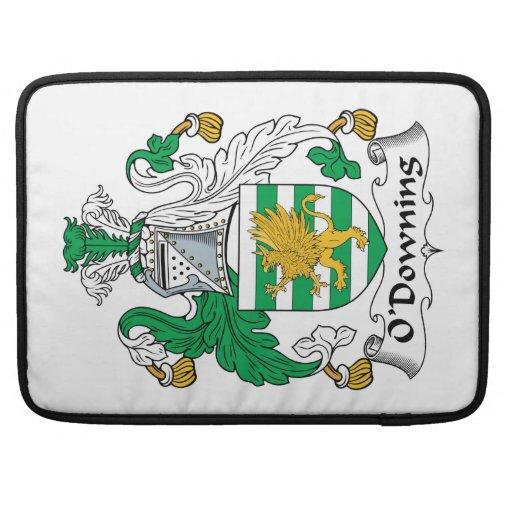 Escudo de la familia de O'Downing Funda Macbook Pro