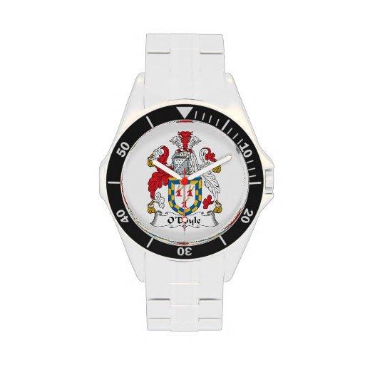 Escudo de la familia de O'Doyle Relojes De Mano