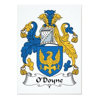 Escudo de la familia de O'Doyne Invitaciones Personalizada