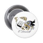 Escudo de la familia de O'Driscoll Pin