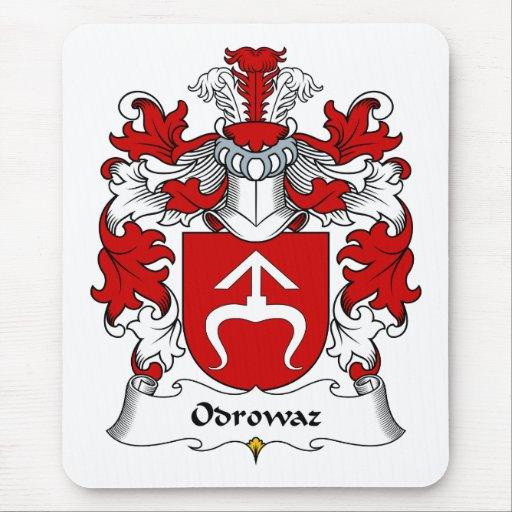 Escudo de la familia de Odrowaz Tapetes De Ratón