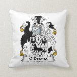 Escudo de la familia de O'Duana Cojines