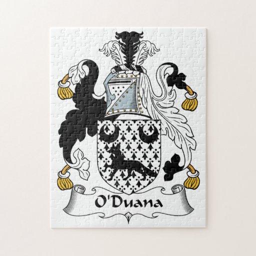 Escudo de la familia de O'Duana Puzzles