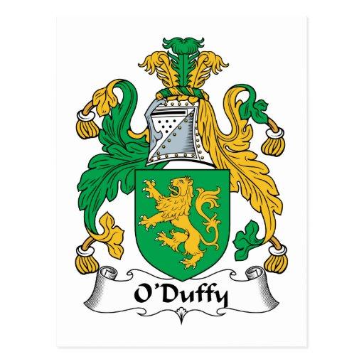 Escudo de la familia de O'Duffy Postales