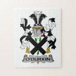 Escudo de la familia de O'Durkin Puzzles