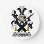 Escudo de la familia de O'Durkin Relojes