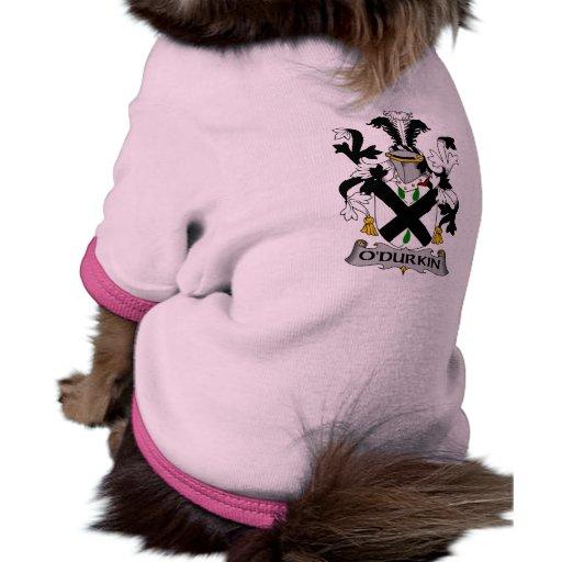 Escudo de la familia de O'Durkin Ropa De Perros
