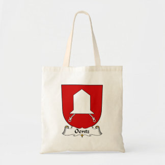 Escudo de la familia de Oentz Bolsa Lienzo