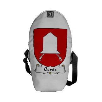 Escudo de la familia de Oentz Bolsa Messenger