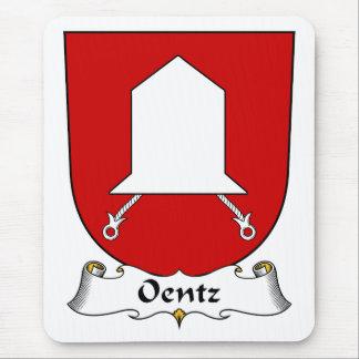 Escudo de la familia de Oentz Mouse Pads